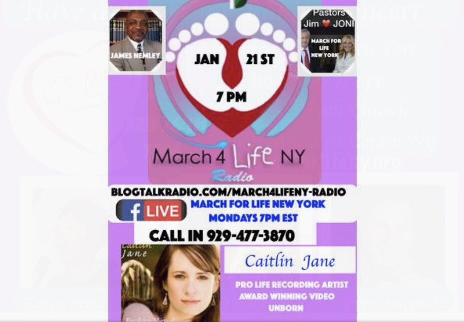 NY March for Life Radio Interview